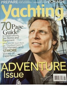 Yachting Magazine Montague Feature Cover
