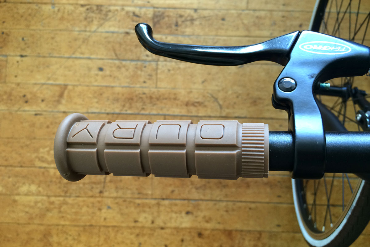 Oury Grip on Montague Folding Bike