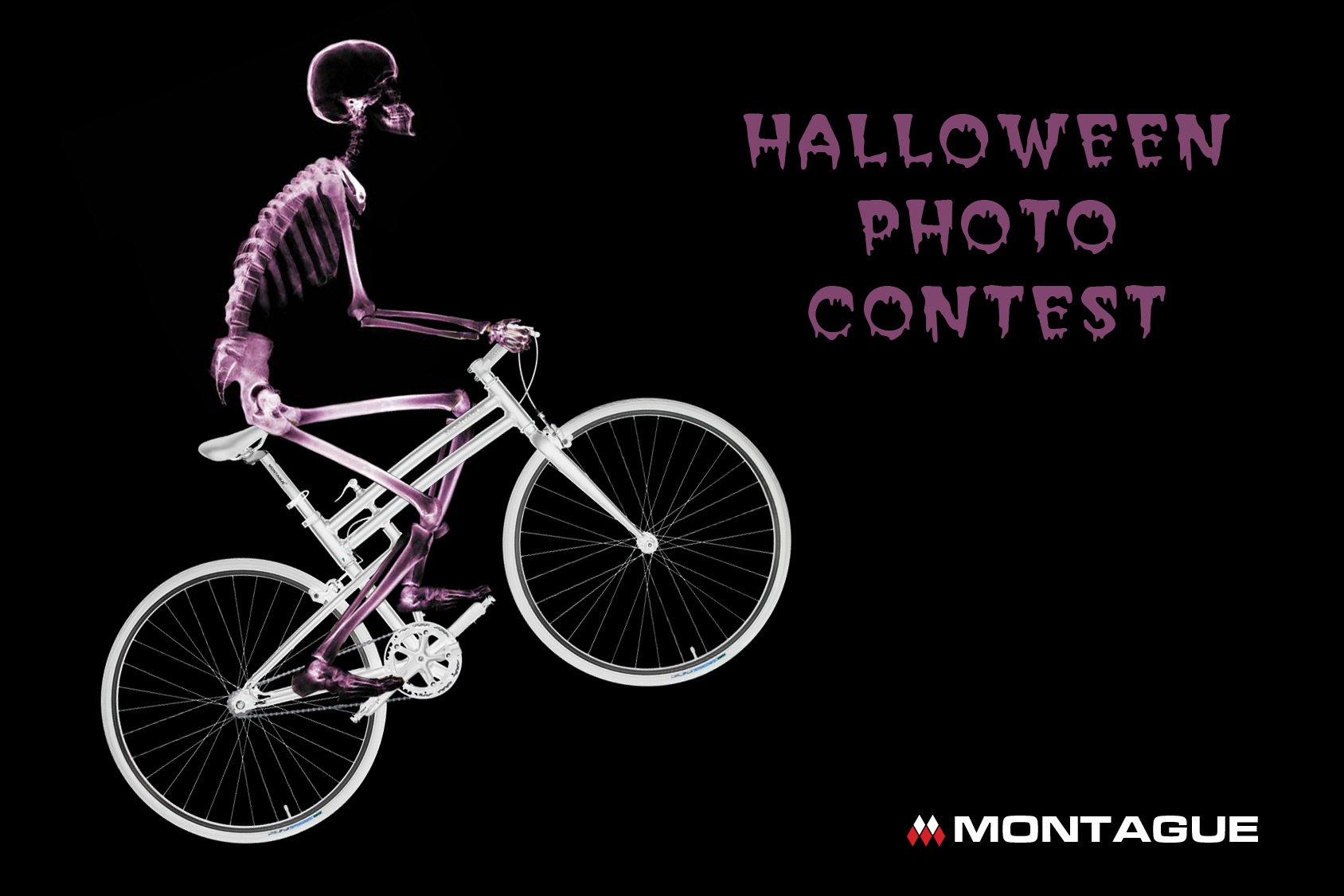 Montague Folding Bike Halloween Contest