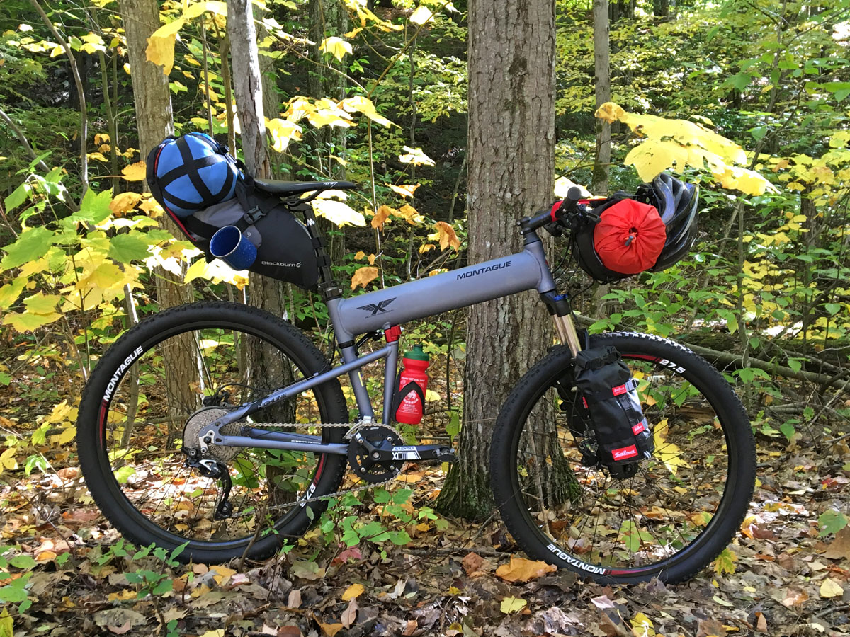 Bikepacking on the New Paratrooper Highline