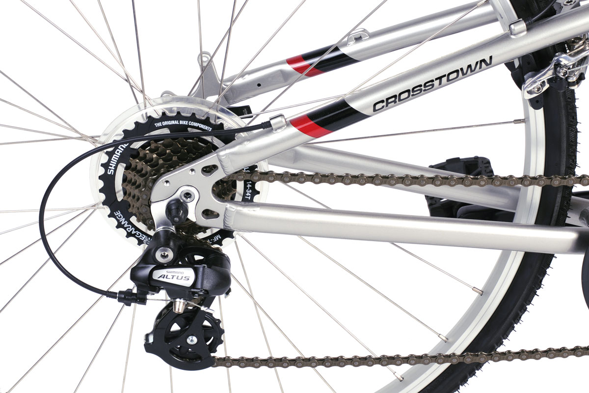 Montague Crosstown drivetrain closeup