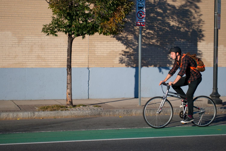 Crosstown-riding-in-bike-lane