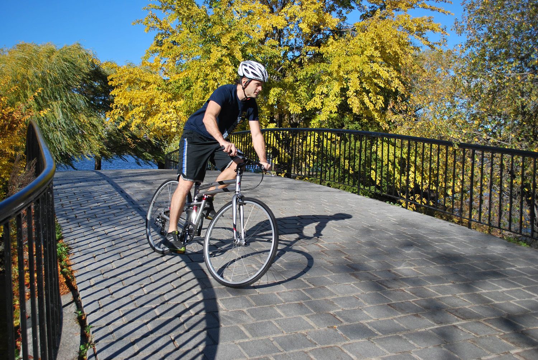 Crosstown-riding-over-bridge