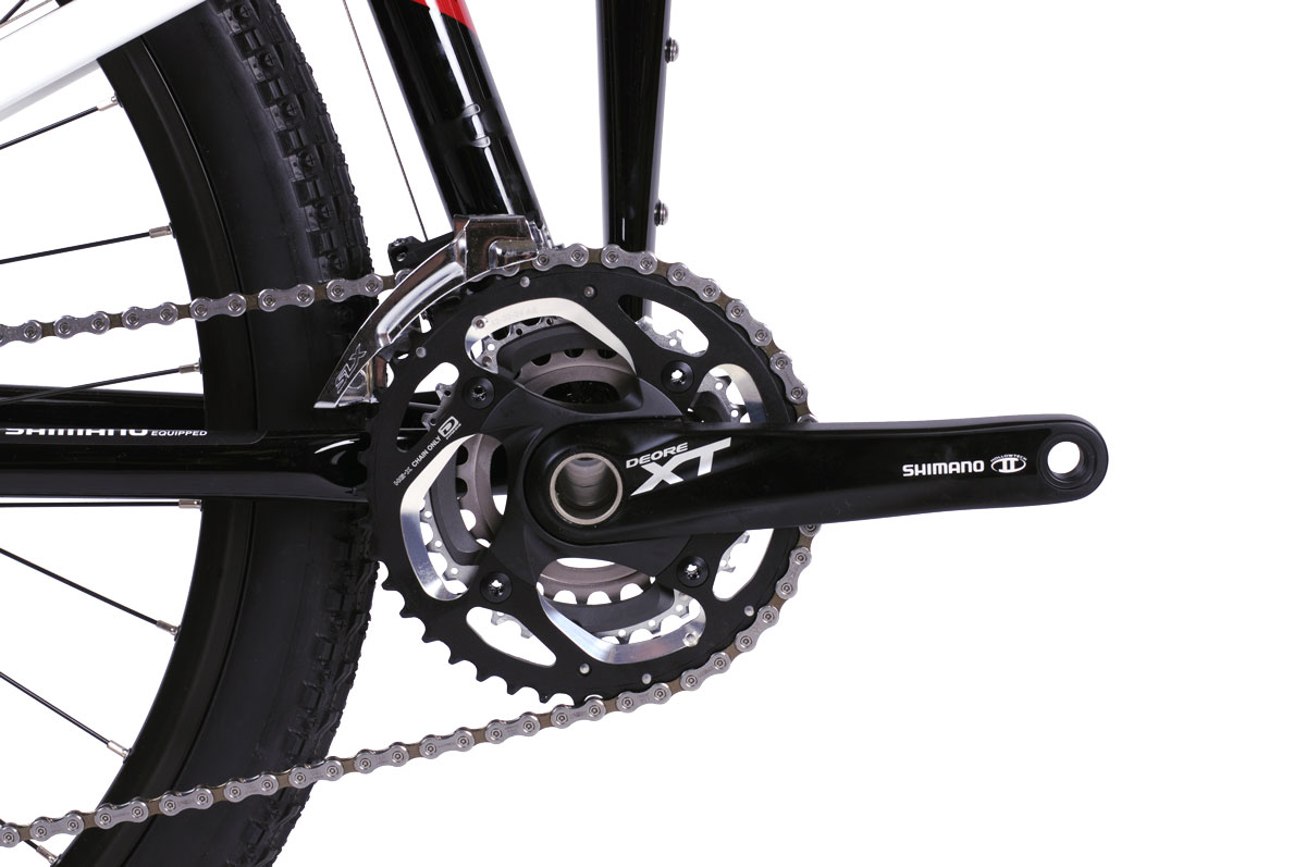 Montague Paratrooper Elite crankset closeup
