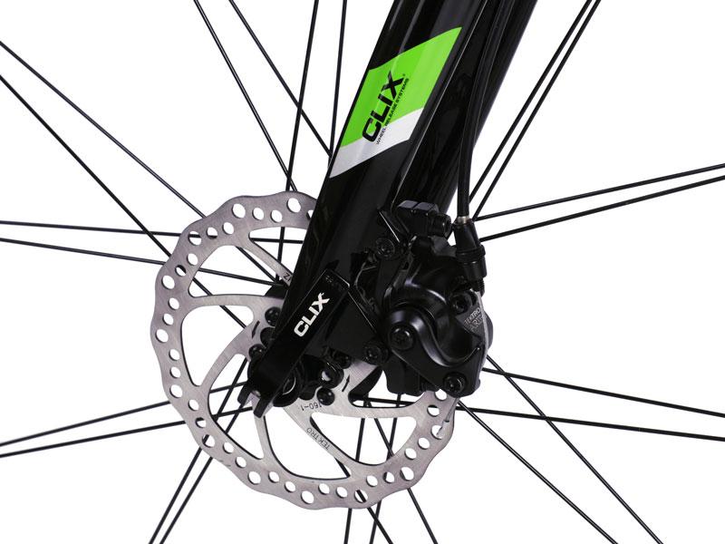 FIT Carbon Fiber Fork and Disc Brake Closeup