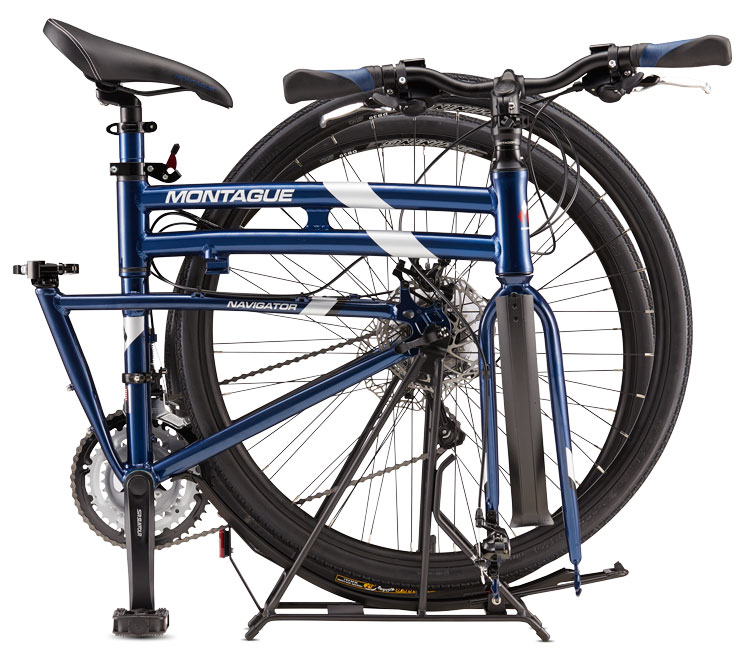 Montague Folding Bikes - Navigator Model Folded