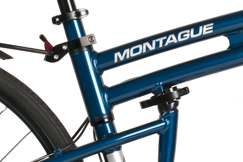 Navigator Folding Bike Frame Closeup