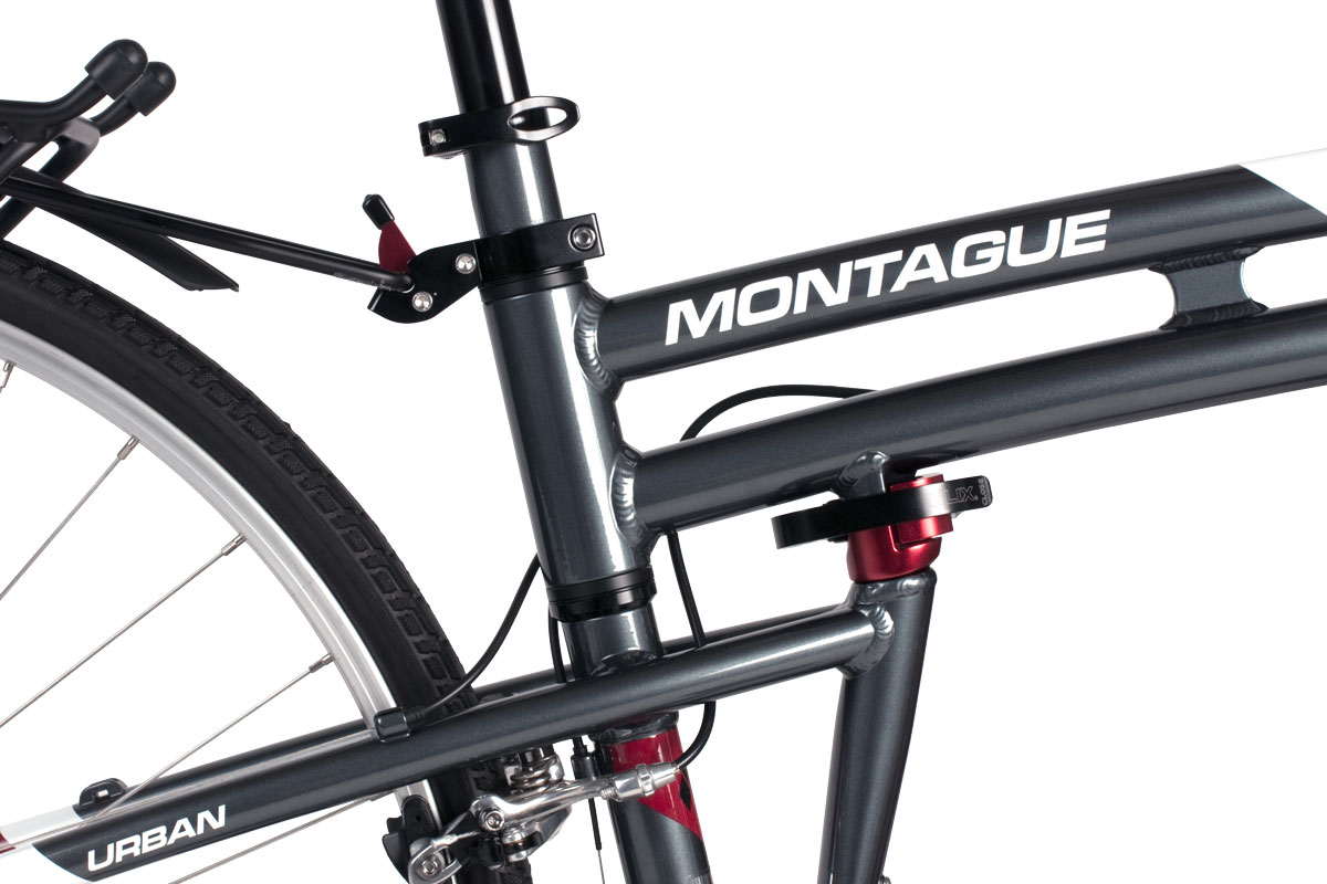 Montague Urban folding system closeup