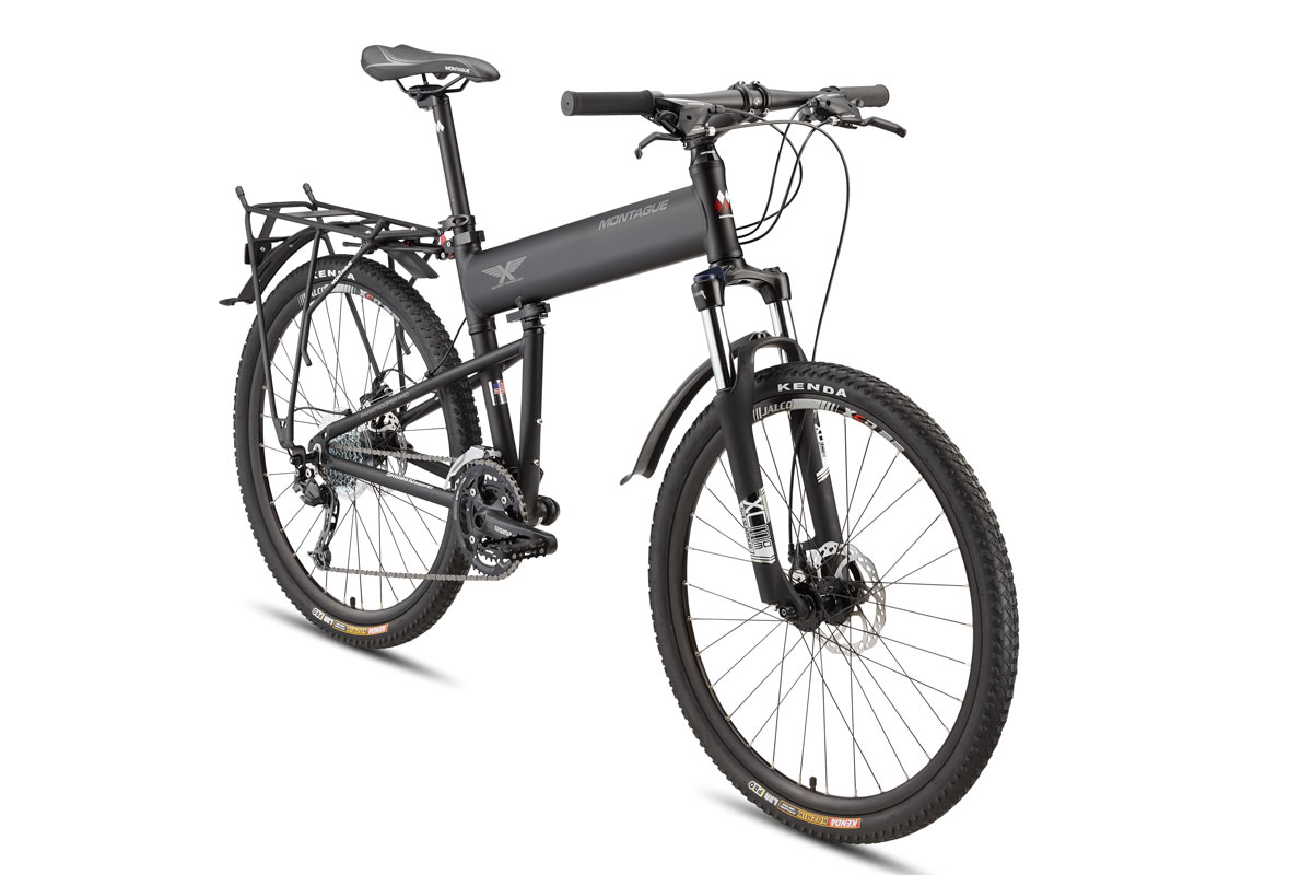 Montague Paratrooper PRO folding bike angled