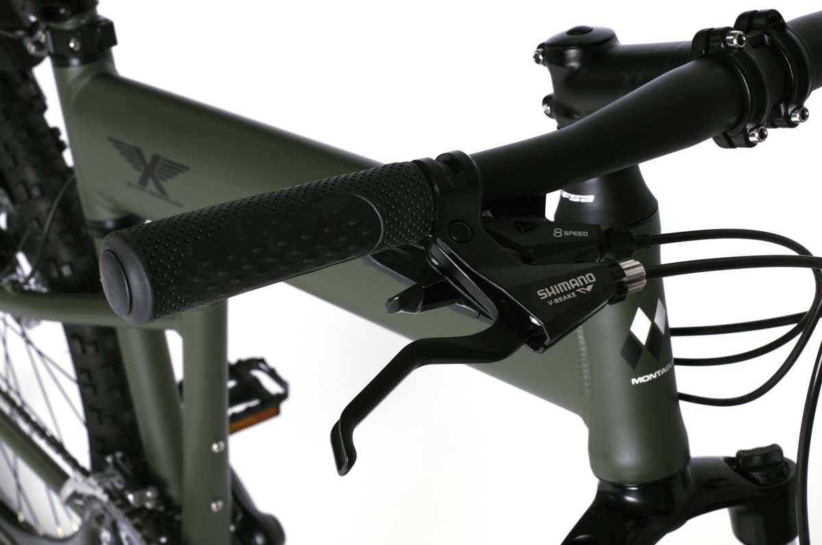 Montague Paratrooper Handlebars closeup