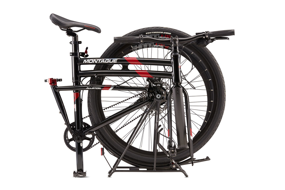 Montague Allston Folding Bikes Folded