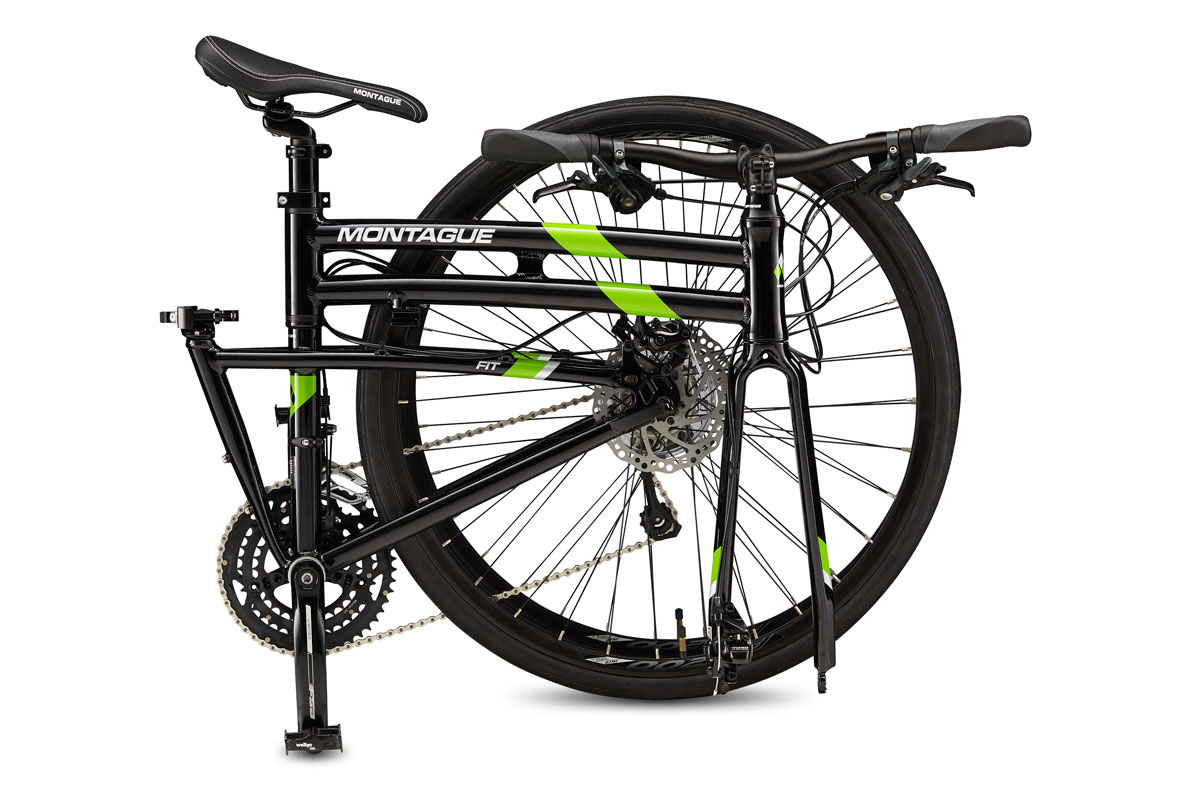 Montague FIT folding bike folded