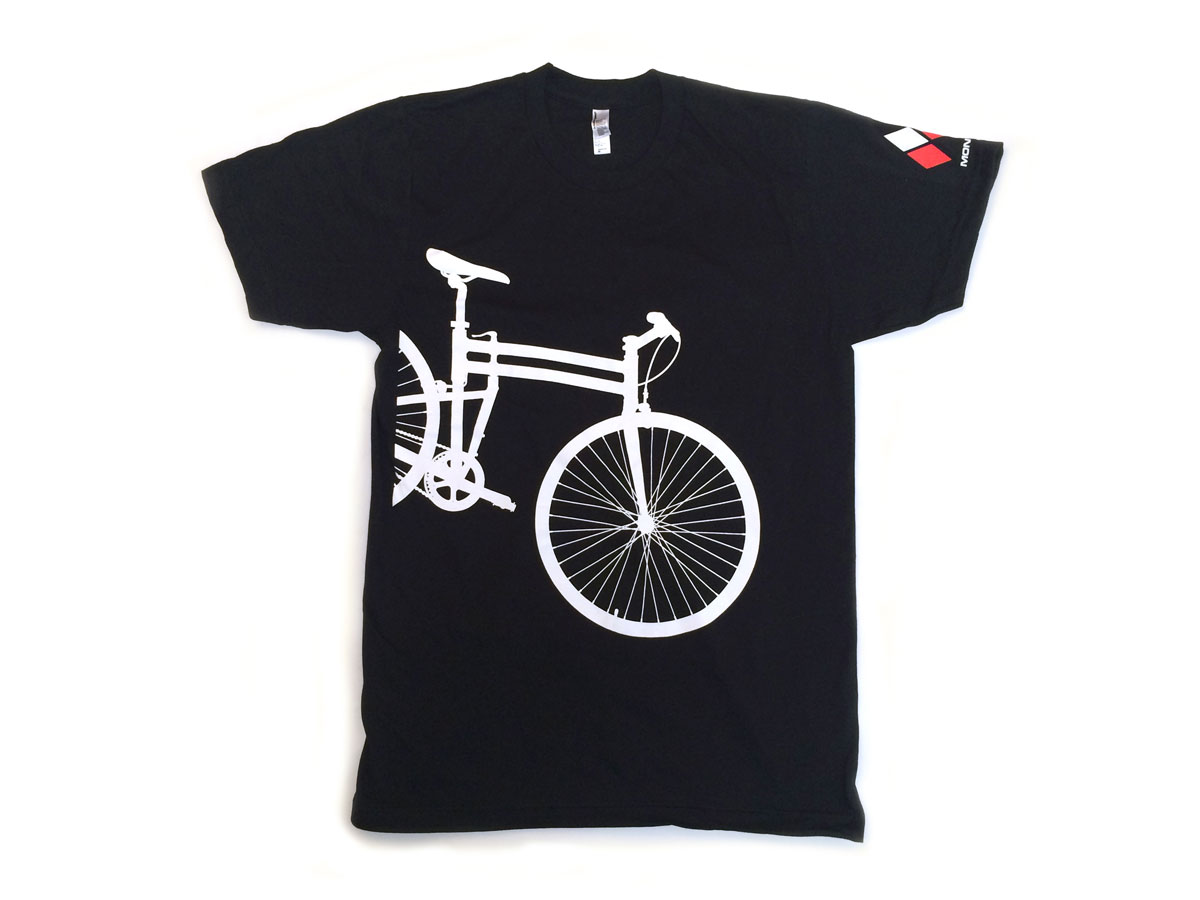 Montague Bikes t-shirt front alone