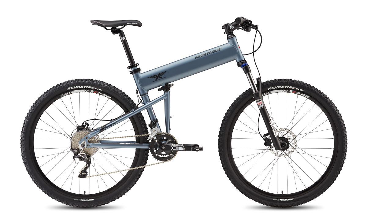 Montague Paratrooper Highline Folding Bike Open