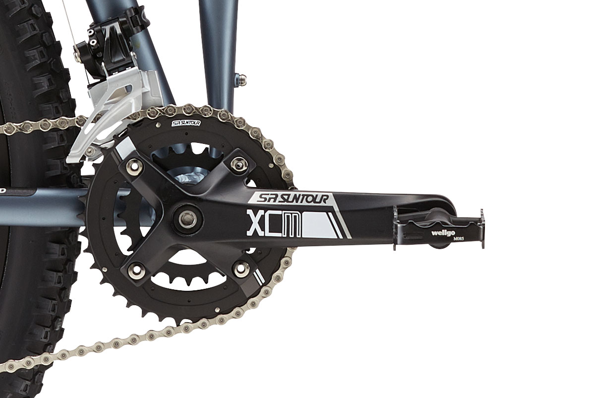 Montague Paratrooper Highline Crankset Closeup
