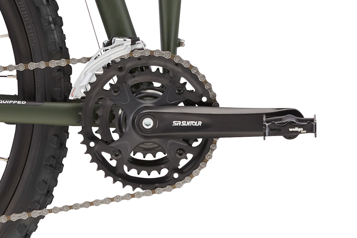 Montague Paratrooper Crankset closeup