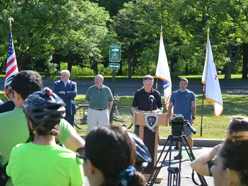 Montague Expands Official Park&Pedal Program with State of Massachusetts