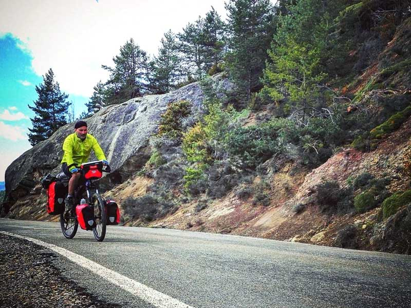 Touring the Spanish Pyrenees on a Montague