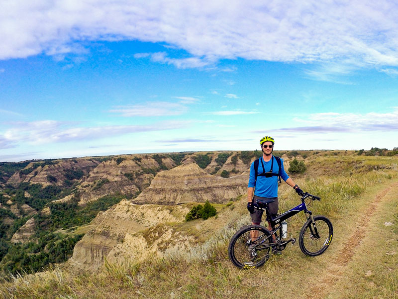 Riding North Dakota with Brent Rose