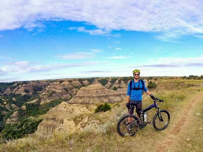 Riding North Dakota with Brent Rose