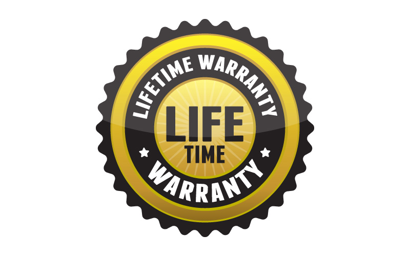 Montague Bikes life time warranty icon