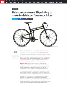 Sports Illustrated Montague Folding Bike Article Thumbnail