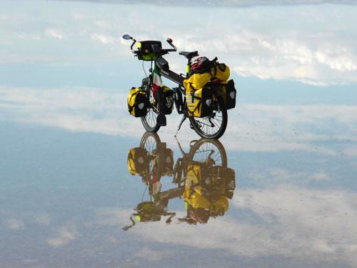 From Genoa to Jerusalem on a Montague Bike