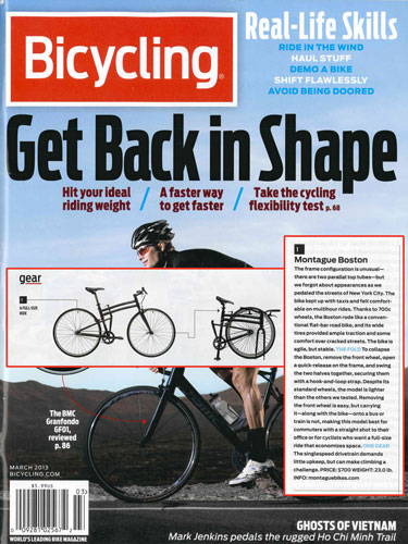 Bicycling Magazine Montague Folding Bike Review Thumbnail