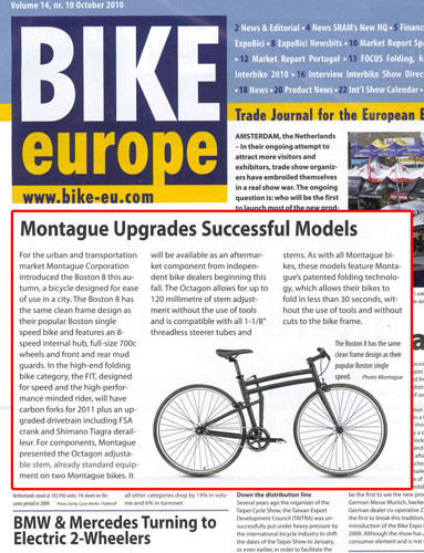 Bike Europe Montague Boston 8 Article