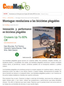 Ciclomag Montague Article