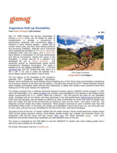 Gizmag Montague Bikes Feature