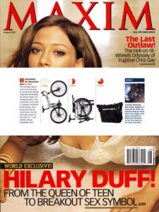 Maxim Magazine Montague Bikes Feature
