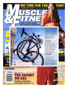 Muscle & Fitness Magazine Montague Bikes Feature