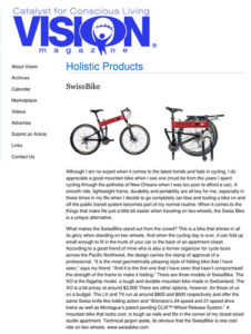 Vision Magazine Montague Bikes Feature
