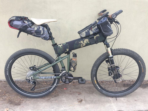 This Custom Paratrooper is the Ultimate Adventure Bike