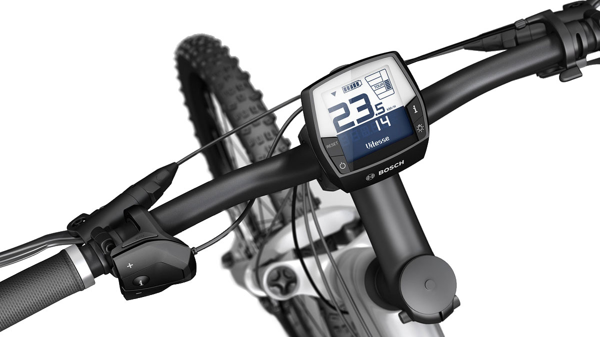 Bosch E-bike display and controls