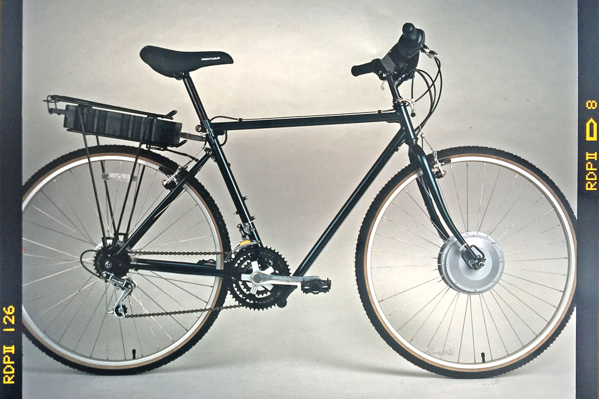 History Of The First Electric Mountain Bike Montague Bikes Bmw Fat Everything From Classic Hard Tails To Full Suspension Are Being Equipped With Motors What May Surprise You Is That