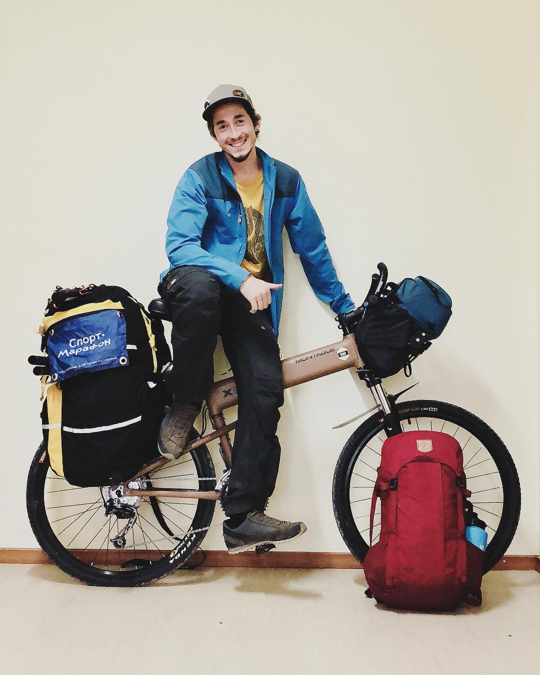 Bikepacking Eastern Russia on the Paratrooper Pro | Montague