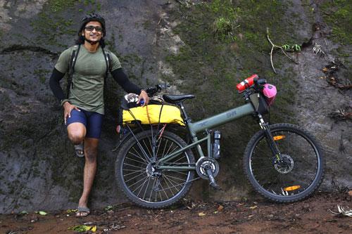 Bikepacking Southern India with Sreejith