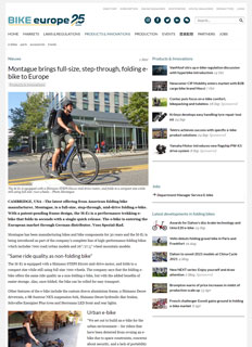 Bike Europe Montague M-E1 Article Thumbnail