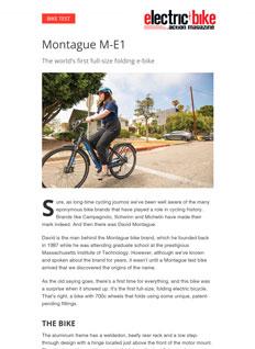 Electric Bike Action Montague M-E1 Review Thumbnail